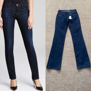 NWT J brand bombshell straight leg jeans in indigo